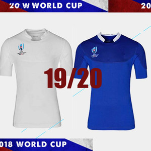 Wholesale world cup France rugby jersey FRANCE home blue Rugby Japan Jerseys Home White Red National Team Japanese Rugby size S XL can print