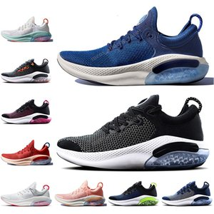 Mens Joyride Run FK knit running shoes Platinum Tint University Red Black White Oreo Navy Blue sports trainers designer joyride sneakers