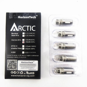 Wholesale arctic coil heads resale online - Clearance original Horizon arctic clapton wire coil ohm ohm coils head for horizontech arctic Top v2 atomizer Authentic