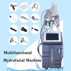 Wholesale Factory price IN hydra Micro Needle oxygen spray Gun Cooling RF skin rejuvenation microdermabrasion machine handles for salon