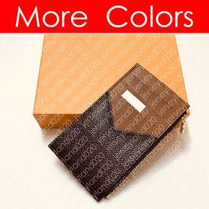 COIN CARD HOLDER M30271 Men's Designer Fashion Luxury Zippy Pocket Organiser NM Luxury Coin Credit Card Case Holder Multiple Wallet N64038