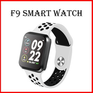 Wholesale F9 Bluetooth Smart Watch Full Screen Touch Heart Rate Monitor Calories Fitness Tracker Smart Bracelet PK iwatch A1 Smartwatch
