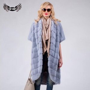 Wholesale Mink Coats For Women Real Fur Coat Thick Warm Full Pelt Outerwear Luxury Coats Winter O Neck Short Park With Natural Fur