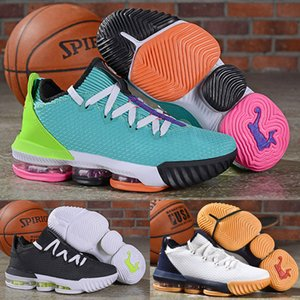 Wholesale 2019 New Low Lebron Hyper Black Python Men Kids Basketball Shoes s Electric Green Total Orange White Designer LBJ Mens Trainers