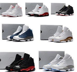 Wholesale girls 13 boot for sale - Group buy Cheap kids s low basketball shoes black orange red terracotta boys girls Youth kids J13 jumpman XIII sneakers baby boot