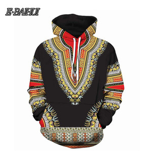 E-BAIHUI Women Hoodies Sweatshirts African folk-custom 3D Print Hooded Sweatshirt Men Hip Hop Streetwear Hoodie Tracksuit Male on Sale
