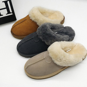 Wholesale High quality WGG Warm cotton australia slippers Men Women s Snow Boots Designer Indoor Cotton slippers booties size US