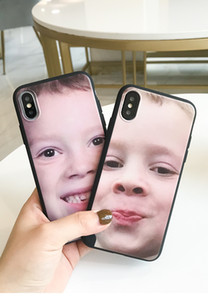 Wholesale For iphone Fake laugh boy iphone case face mobile phone shell spoof painted silicone soft shell
