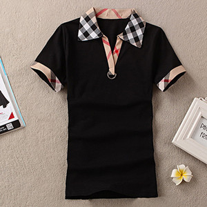 Wholesale Womens England Designer Shirts Summer Brand T Shirt Women Casual Style Tops T shirt Cotton Short Sleeve Tshirt