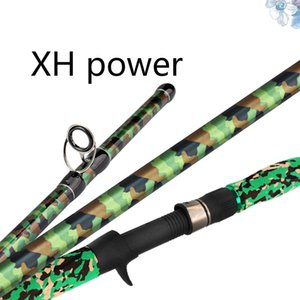 Wholesale XH Power m m Casting Rod Anchor Sticks Carbon Super Strong Super Hard Olta Black Pit Fishing Canne Peche Pesca