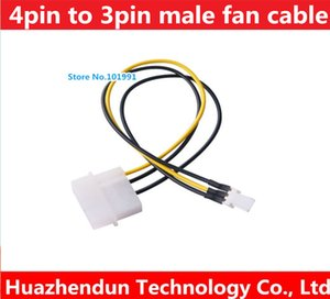 Wholesale pin Molex Male Port to Pin Fan Power Male port Cable D plug IDE Power to Pin Connector supply Cable