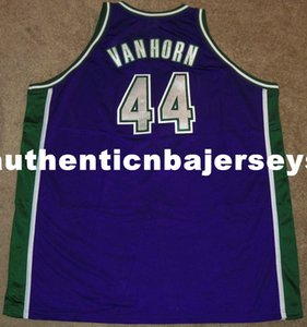 Wholesale New Top KEITH VAN HORN Sewn high quality Rbk JERSEY SEWN RARE Mens Vest Size XS XL Stitched basketball Jerseys Ncaa