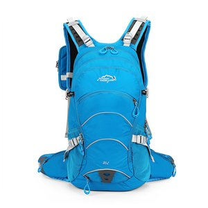 Wholesale 20L Waterproof Moutain Hiking Climbing Bag Bicycle Backpack Bike Rucksack with Rain Cover Cycling Backpack No Water Bag