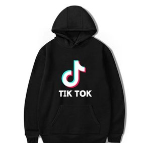 Wholesale BTS Tik tok software New Print Hooded Women Men popular Clothes Harajuku Casual Hot Sale Hoodies sweatshirtXXLkenzoo61