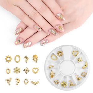 Wholesale diamond rhinestone gems for sale - Group buy New Nail Art Rhinestone Diamond Gems Metal Crystal Glitter D Tips Accessoires Jewelry Manicure Tools Decoration DIY W