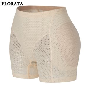 Wholesale FLORATA Shaper Bottom Panties Women Emptied Breathable Underwear Hip Enhancer Butt Pad Hip Pants Brief Panties Enhancer