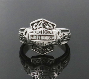 Punk High Quanlity Letter Titanium Rings Jewerly Popular Personality Motorcycle Rock Rings Men Women Rings wholesale Drop Shipping on Sale