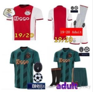 19 20 aduit kit ajax Home soccer Jersey KLAASSEN DOLBERG MELIK DIJKS EL GHAZI YOUNES Top quality 2019 2020 Jerseys Ajax football shirts on Sale