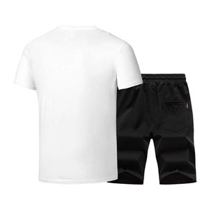 Wholesale mens designer t shirts Mens Designer Tracksuits Fashion Brand Tracksuits Casual Jogger Pants ONeck Clothing L -5XL best selling big size hot