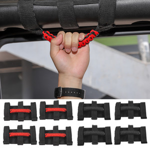 barras de agarre al por mayor-Top Handle Roll Bar Grab Handles GRIP MANGLE PARA JEEP WRANGLER JL JK TJ UP Auto Accesorios internos