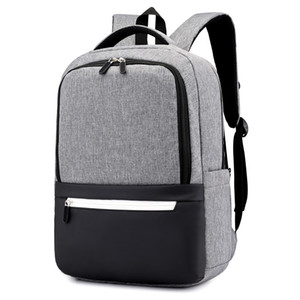 Wholesale backpacks for laptops resale online - minimalist black school backpacks for boy waterproof laptop backpack anti theft book Travel bag pack kids school bags mochila