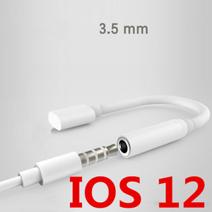 Wholesale New Earphone Headphone Jack Adapter Converter Cable Lighting to mm Audio Aux Connector Adapter for IOS Cord for Plus