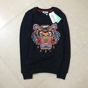 Top Brands G4kenzo hoodies men's Sweatshirt tiger head embroidery new couple Hoodie and brand letter designer street clothes