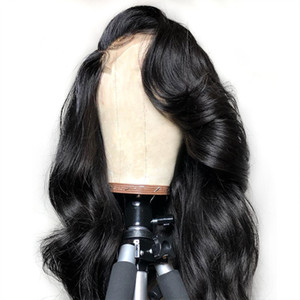Glueless Loose Wave Brazilian Human hair Wigs Loose Deep wave Lace front and Full lace Wig With Baby Hair For Black Women