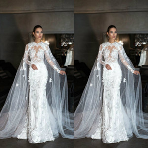 Wholesale bridal tulle shawl resale online - Exclusive Design Wedding Wrap Tulle Cloak Lace Ladies Bridal Cape Sleeveless Bridal Shawl Customized Wedding Jackets