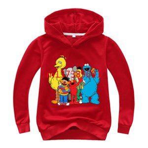 Children's Hoodies Fashion Heat Transfer Boys and Girls Sweater Children's Clothing Outdoor Cartoon Long-sleeved Kids Sports Hoodies on Sale
