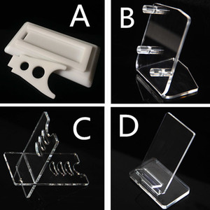 Wholesale E cig Acrylic Holder Stands For Display Box Mod Cases Vape Kits Shelf Racks Ego One Aio IPV ISTICK W E cigarette Accessories