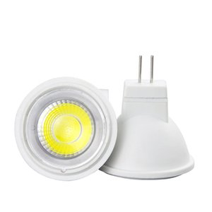 Wholesale cob led 5w chip resale online - MR16 LED spotlight W COB chip beam angle spotlight LED bulb