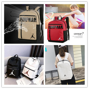 Wholesale New Quality Students Backpack air jordam Player Fashion Designer JORDAM aj Backpacks For man women youth Luxury Double Shoulder Bags