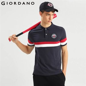 Wholesale Men Polo Shirt Men Union Jack Embroidery Polo Color Blocking Camisa Polo Slim Pattern Short Sleeves Homme Fashion New XL