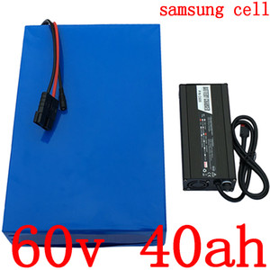 Wholesale 60v 40ah battery for sale - Group buy Lithium battery V V W W W W electric scooter battery V AH use samsung cell battery electric bicycle
