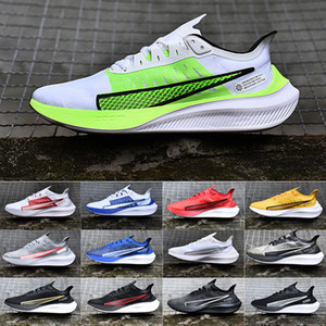 New arrivals Mens Zoom Pegasus 37 running shoes Pegasus 36 Trail Turbo 2 prm rise Athletic Casual designer Shoes Racers Trainers 40-45