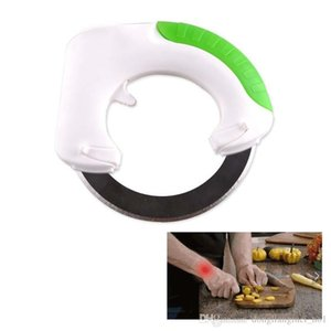 Wholesale DLM2020 Circular knife Round Shape Wheel Rolling Kitchen Tool With Stainless Steel Blade Vegetable Meat Cake Pizza Cutter Creative wn073