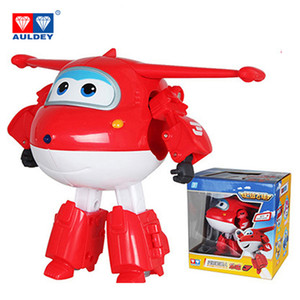 Wholesale AULDEY Big Transformation Robots cm Super Wings Action Figures Toys Jett Poppa Flip Astra Mira Donnie Dizzy Kids Gift Toys