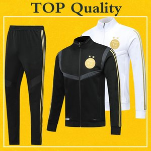 Survetement Algerie Soccer Jacke Tracksuit 2020 Maillot Algeria 19 20 TOP Quality PRE-MATCH Winter Training 2019 Football Jacket Pants