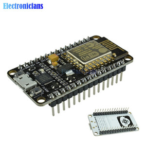 Wholesale Freeshipping CP2102 NodeMcu Lua Wireless Module Wifi Internet of Things IOT Development Board Based ESP8266 With USB IO Pins Port