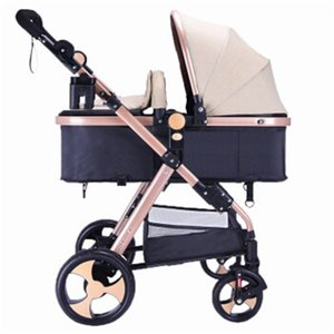 Wholesale Ultra light baby stroller can sit reclining folding absorbers can be on the plane baby stroller free inflatable