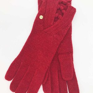 Winter Gloves Women Long Keep Warm Mittens Solid Color Simple Wristband Thick Knitted Gloves Multicolor Wool Gloves Women