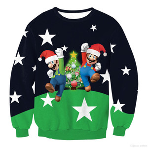 newfstore New Unisex Festival Christmas Santa Claus Xmas Jumper Sweater Pullover Outwear Tops on Sale