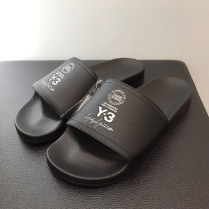 Wholesale 2019 Summer New Arrival Luxury Brand Designer Top Quality Men Women Y-3 Slippers Y3 Beach Sandals Scuffs EURO Size 36-45