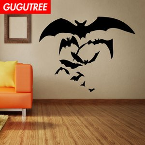 Decorate Home bat cartoon art wall sticker decoration Decals mural painting Removable Decor Wallpaper G-2034 on Sale