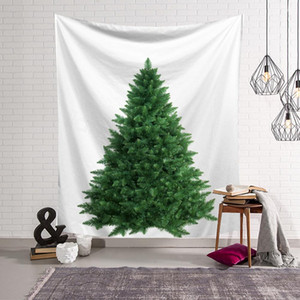 Wholesale decoration beach for sale - Group buy 8styles Christmas Trees Tapestry Wall Hanging Mural Beach Towel Shawl Printed Yoga Mat Party Decoration Backdrops props CM FFA3208