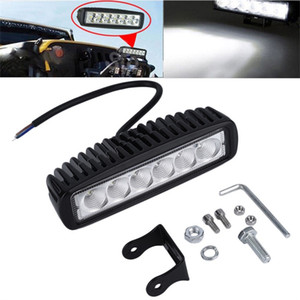 Wholesale inch W LED Work Light Bar Lamp for Driving Truck Trailer Motorcycle SUV ATV OffRoad Car v v Flood Spot