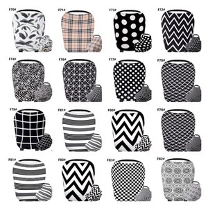 Nursing Cover Breastfeeding Cover Baby Car Seat Multi Use for Baby Car Seat Covers Canopy Shopping Cart Stroller Cover LJJK1868
