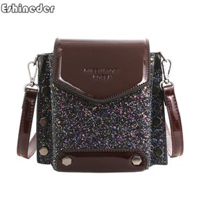 Wholesale Ladies Clutch Shoulder Messenger Crossbody Bags Casual Mobile Phone Coin Purse Pack Women Shopping Satchel Flap Bag Sequin
