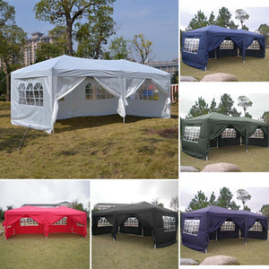 New Fashion Folding Party Tent with Side Panel Tent for Garden Wedding Aluminum Tube Support Fashion Outdoor Sports